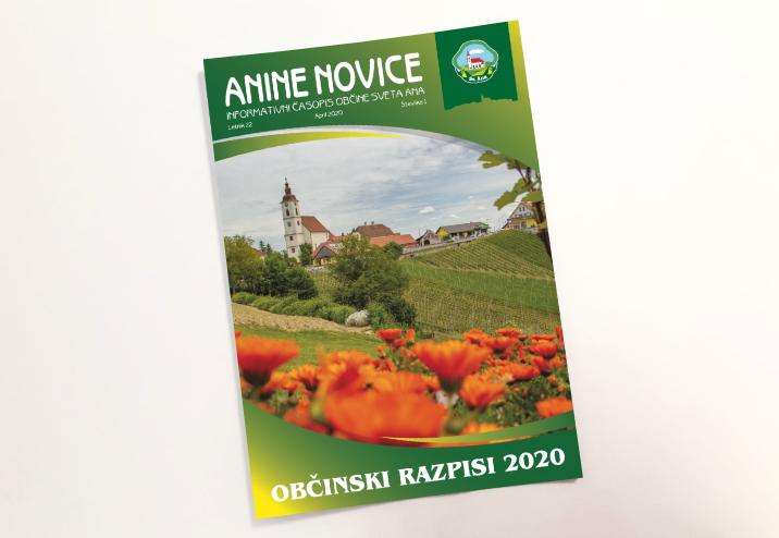 Anine novice - glasilo Občine Sveta Ana v Slovenskih goricah