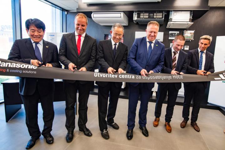 Otvoritev učnega centra Panasonic (HVAC)